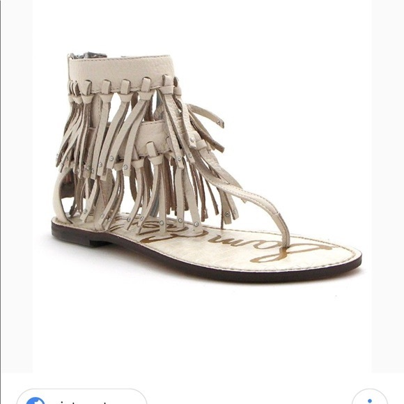 Sam Edelman Shoes - Sam Edelman Griffin Fringe Sandals.  Size 8